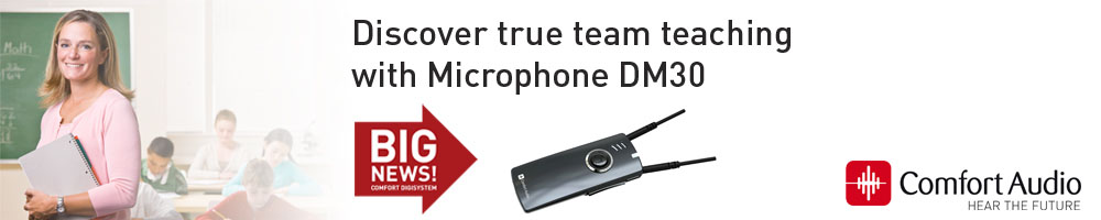Comfort Audio: Microphone DM30