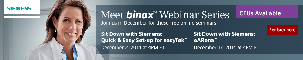 Siemens binax Dec Webinars