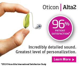 Oticon Alta with BrainHearing Technology