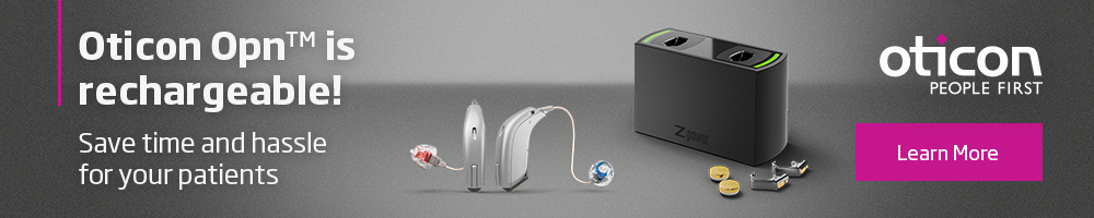 Oticon Opn Rechargeable - October 2017 (Sitewide)
