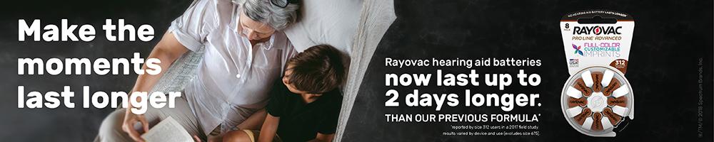 Rayovac Make the Moments Last Longer - September 2018