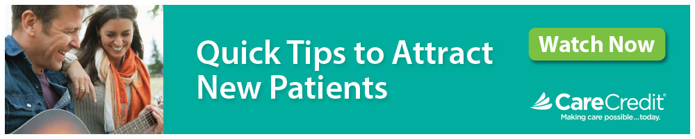 CareCredit Quick Tips to Attract New Patients #2 - 2019