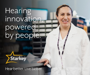 Starkey - Hearing innovation, powered by people. - May 2021 - Ad 2