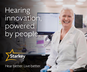 Starkey - Hearing innovation, powered by people. - May 2021 - Ad 3