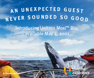 Unitron Moxi™ Blu - May 2021