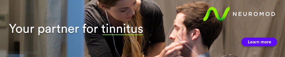 Neuromod Devices - Your Partner for Tinnitus CTA - September 2021